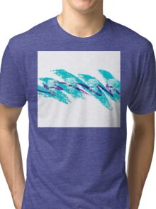 Aesthetic Paper Cup Tri-blend T-Shirt