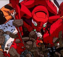 Neon Genesis Evangelion - Evangelion Unit-02 - 2015 1080p Blu-Ray Cleaned Upscales by frictionqt