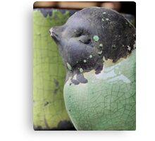 Ceramic Bird Canvas Print