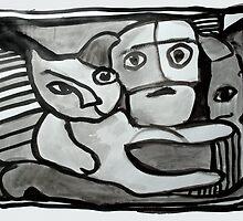 Waiting' / 'Ventende by Maya Hiort Petersen