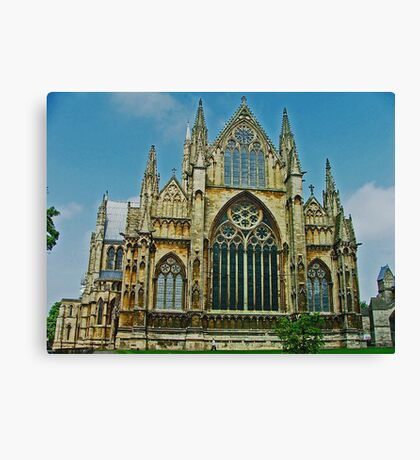 Lincoln Cathedral East End Canvas Print