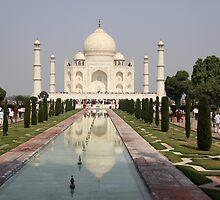 The Taj Mahal by Karen  Rubeiz