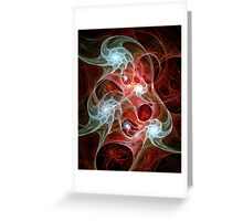 Ghost Flames Greeting Card