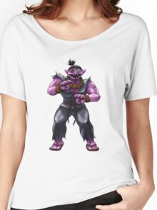 Sesame Street Fighter: Acountma Women's Relaxed Fit T-Shirt