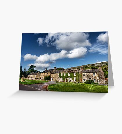 The Cottages Arncliffe Greeting Card