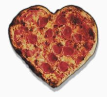 Heart Shaped Pizza Kids Clothes