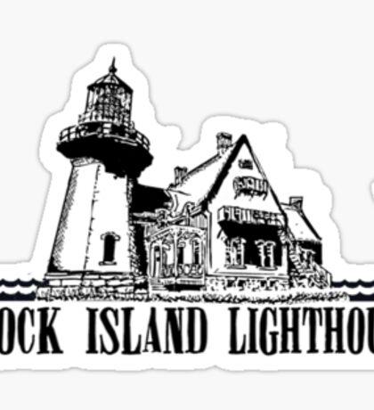 Block Island. Sticker