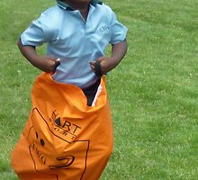 Sack Race - School sports day by TonyCrehan