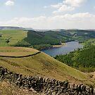 Whinstone Lee Tor:  The Peak District by Steven  Lee