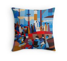 'AURORA' LEAVING HOBART 1911 Throw Pillow