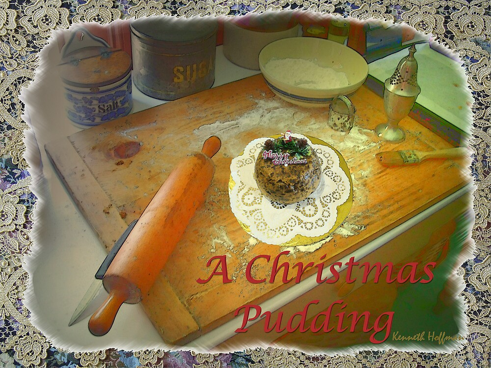 Xmas Pudding by Kenneth Hoffman