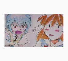 Neon Genesis Evangelion - Asuka Langley & Rei Ayanami STITCH - 2015 1080p Blu-Ray Cleaned Upscales Kids Clothes