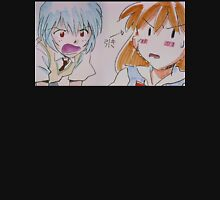 Neon Genesis Evangelion - Asuka Langley & Rei Ayanami STITCH - 2015 1080p Blu-Ray Cleaned Upscales Unisex T-Shirt