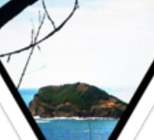 Paradise Island Beautiful Ocean Good Vibes Hipster Boho Print Sticker