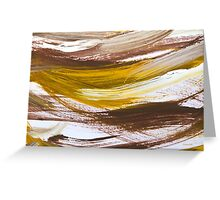 Harmony Abstract Painting Greeting Card