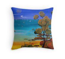 Merricks Beach Throw Pillow
