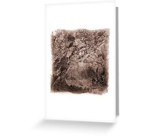 The Atlas of Dreams - Plate 17 Greeting Card
