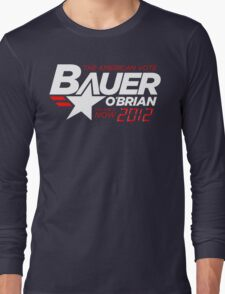 Vote Jack Bauer in 2012 Long Sleeve T-Shirt