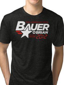 Vote Jack Bauer in 2012 Tri-blend T-Shirt