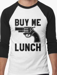 Buy Me Lunch Men's Baseball ¾ T-Shirt