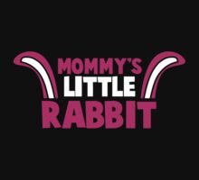 Mommy's little RABBIT! so cute with bunny ears! Baby Tee