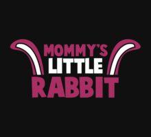 Mommy's little RABBIT! so cute with bunny ears! One Piece - Short Sleeve