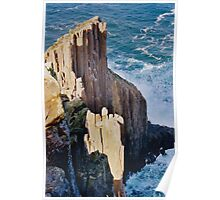 TASMAN PENINSULA ~ Cape Raoul Cliff by tasmanianartist Poster