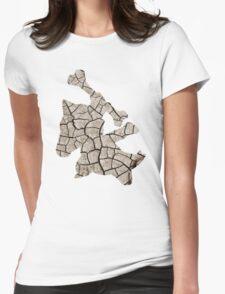 Marowak used earthquake Womens Fitted T-Shirt