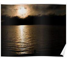 Sunrise Over Eagle Lake (3) Poster