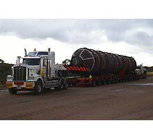 MOVING 200 TON MINE PLANT IN ONE PIECE Photographic Print