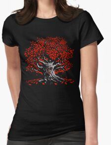Winterfell Weirwood Womens Fitted T-Shirt