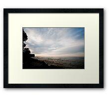 Sunrise - Presqui'le Provincial Park, Brighton, Ontario Framed Print