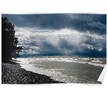 Sunrise - Presqu'ile Provincial Park, Brighton, ON (2) Poster