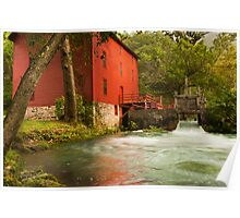 Alley Spring Grist Mill  Poster