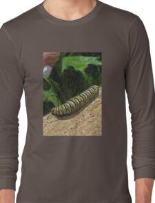 Monarch Caterpillar - Garden Days Long Sleeve T-Shirt