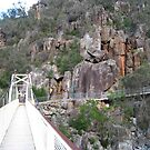 Walking the gorge, Trevallyn Gorge, Launceston, Tasmania by RainbowWomanTas