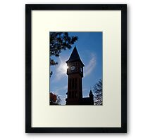 Clock Tower in Kentucky Framed Print