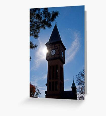 Clock Tower in Kentucky Greeting Card