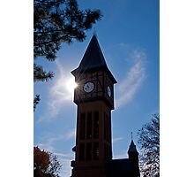 Clock Tower in Kentucky Photographic Print
