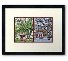 Two Seasons Framed Print