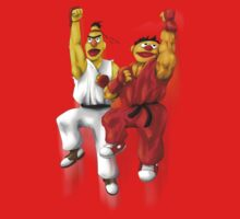 Sesame Street Fighter: Beryu & Kernie Kids Clothes