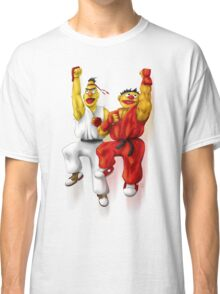 Sesame Street Fighter: Beryu & Kernie Classic T-Shirt