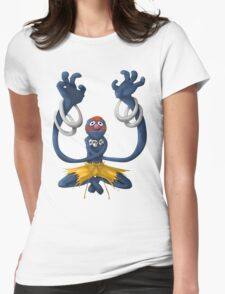 Sesame Street Fighter: Grhalsim Womens Fitted T-Shirt