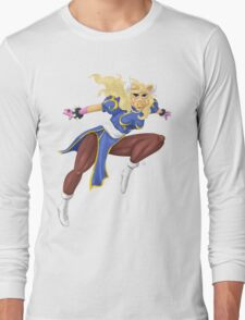 Sesame Street Fighter: Pig-Li Long Sleeve T-Shirt