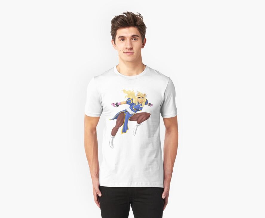 Sesame Street Fighter: Pig-Li by gavacho13