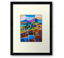 RICHMOND VIEW II, TASMANIA Framed Print