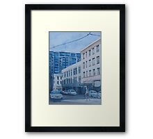 Afternoon on SW 11th Street Framed Print
