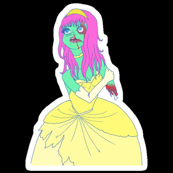 Zombie Princess by Angel Szafranko