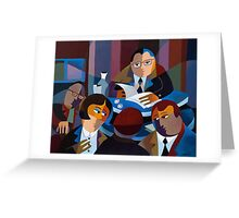 THE MAGISTRATE Greeting Card