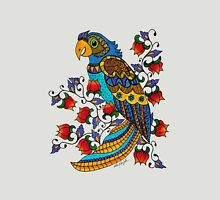 Parrot in Flowers Womens Fitted T-Shirt